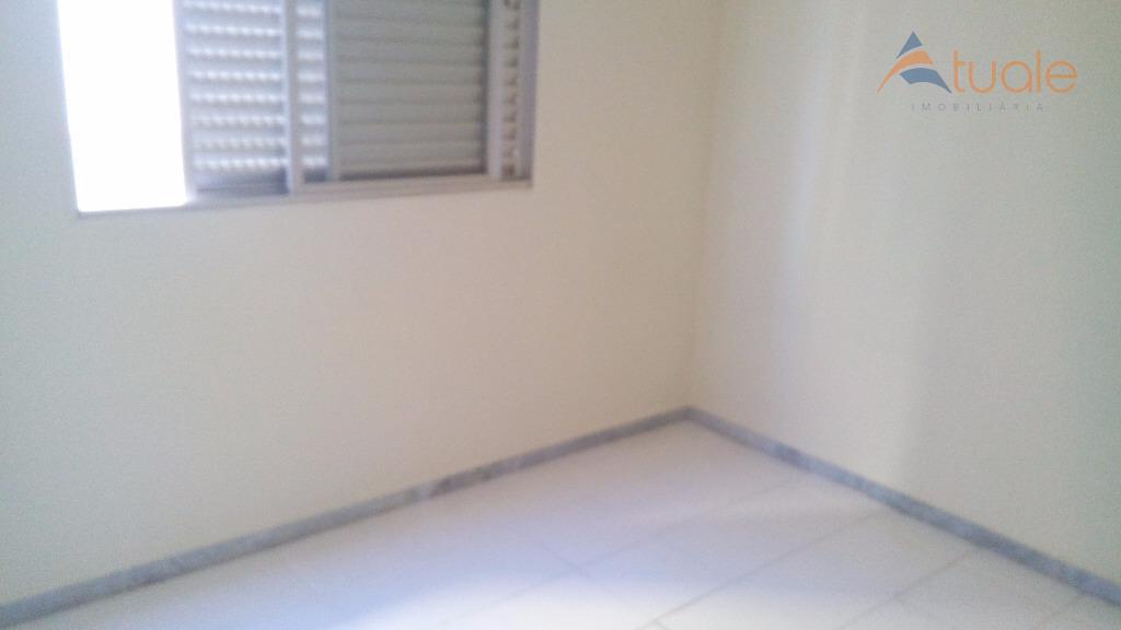 Apartamento de 2 dormitórios em Vila Margarida, Americana - SP