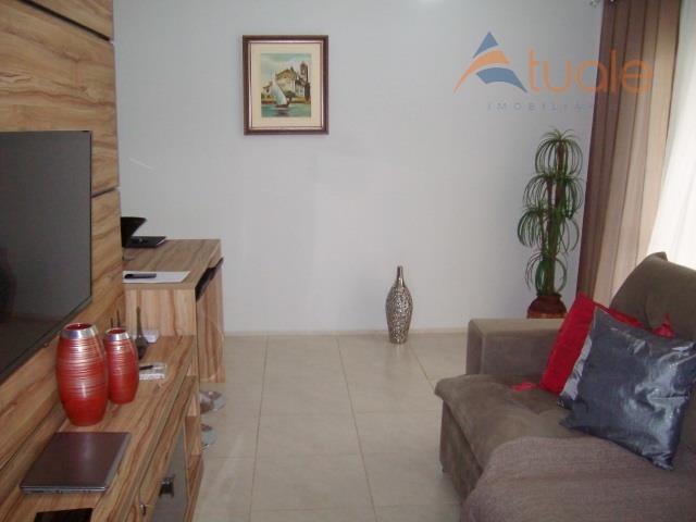 Apartamento de 3 dormitórios à venda em Residencial Villa Flora, Sumaré - SP