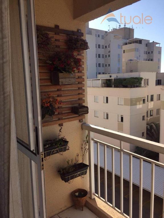 Apartamento de 2 dormitórios à venda em Vila Omar, Americana - SP