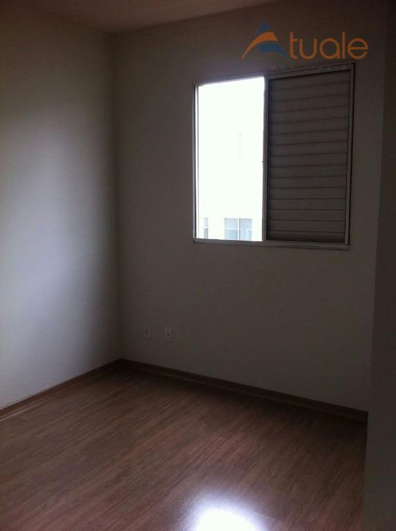 Apartamento de 2 dormitórios em Chácara Letônia, Americana - SP