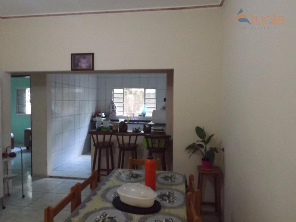 Casa de 3 dormitórios à venda em Parque Da Represa, Paulínia - SP