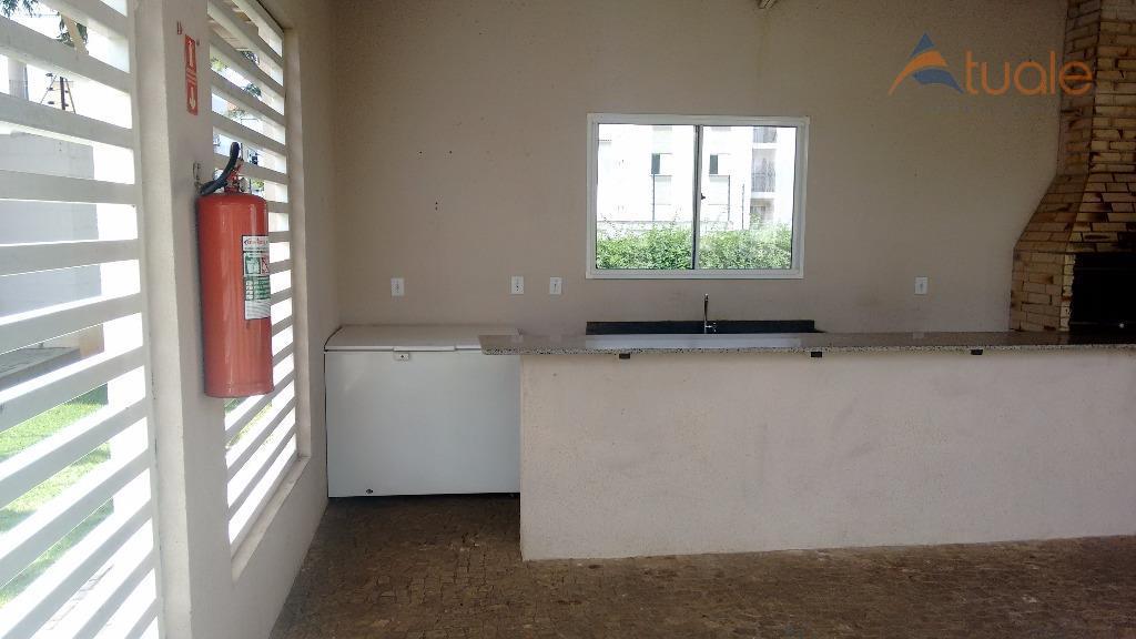 Apartamento de 2 dormitórios à venda em Jardim Volobueff (Nova Veneza), Sumaré - SP