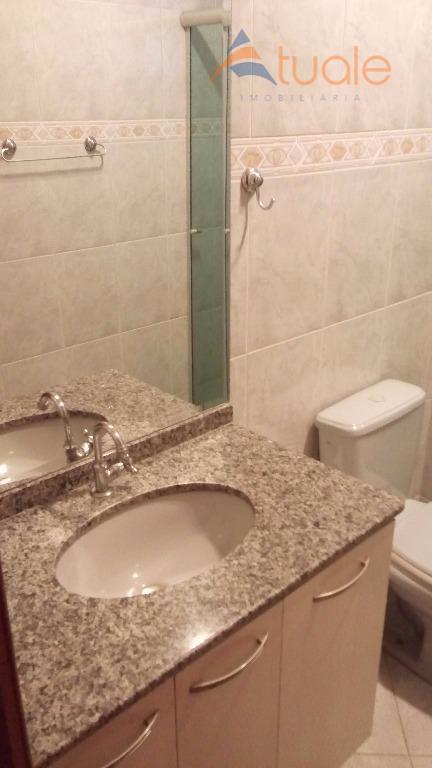 Apartamento de 3 dormitórios à venda em Santa Terezinha, Paulínia - SP