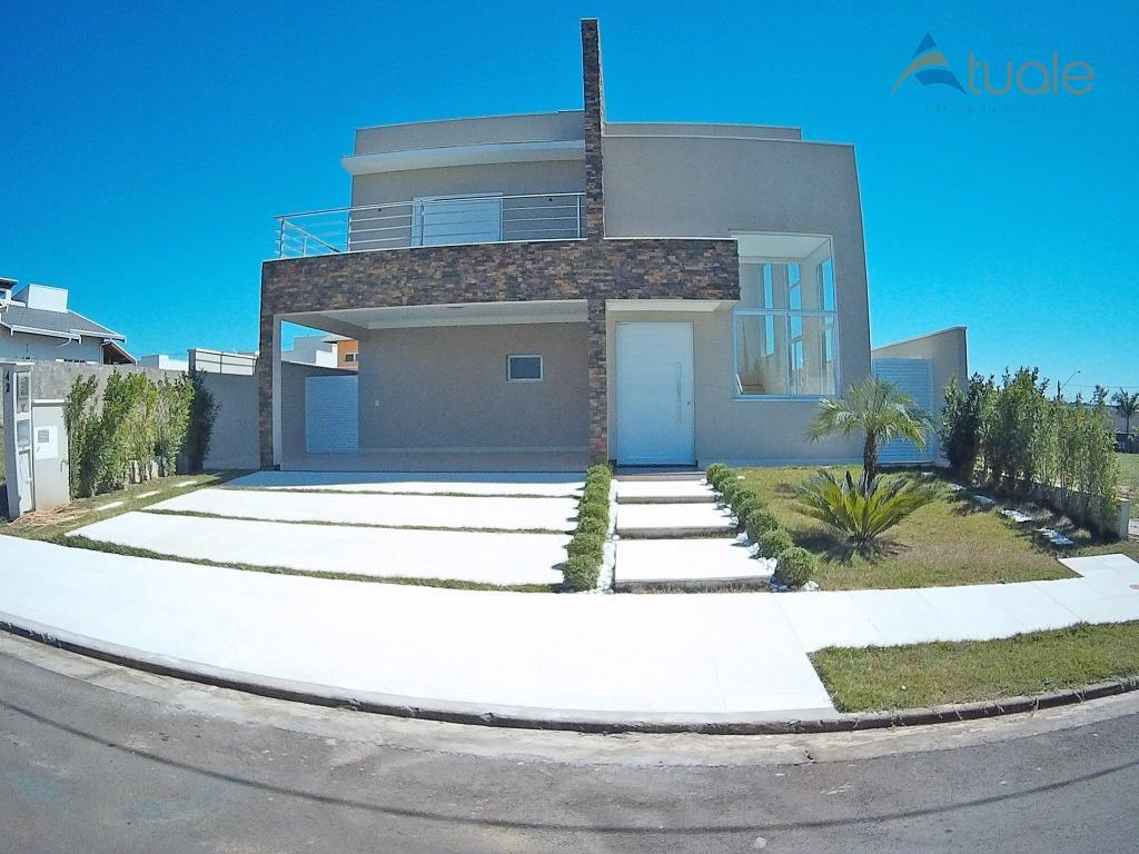 Casa residencial à venda, Terras do Cancioneiro, Parque Brasil 500, Paulínia - CA3747.