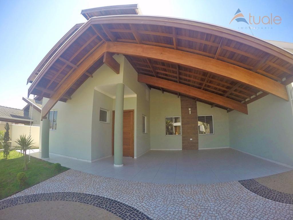 Casa residencial para venda e locação, Terras do Cancioneiro, Parque Brasil 500, Paulínia - CA3860.