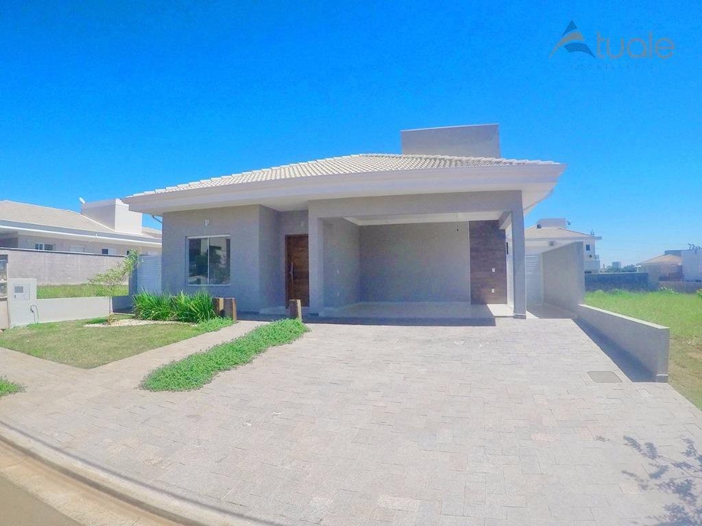 Casa residencial à venda, Terras do Cancioneiro, Parque Brasil 500, Paulínia - CA3931.