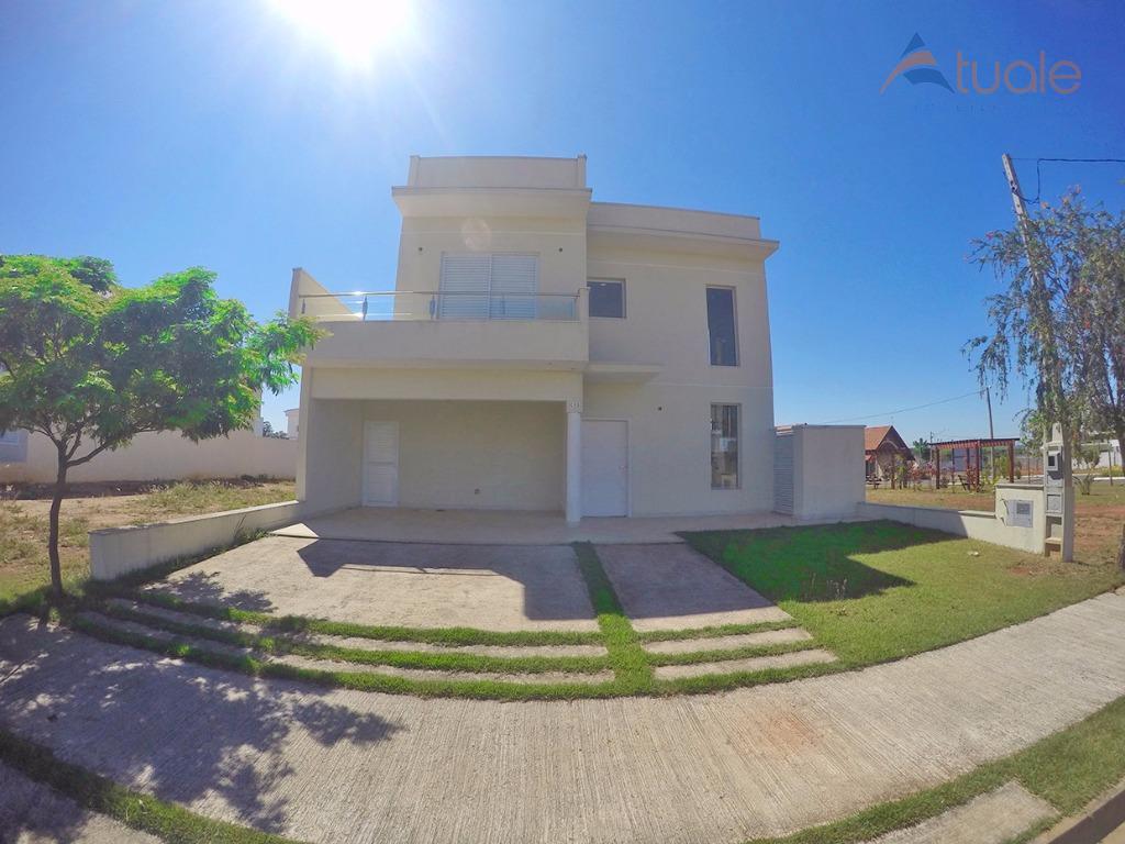 Casa residencial para venda e locação, Reserva Real, Parque Brasil 500, Paulínia - CA3948.