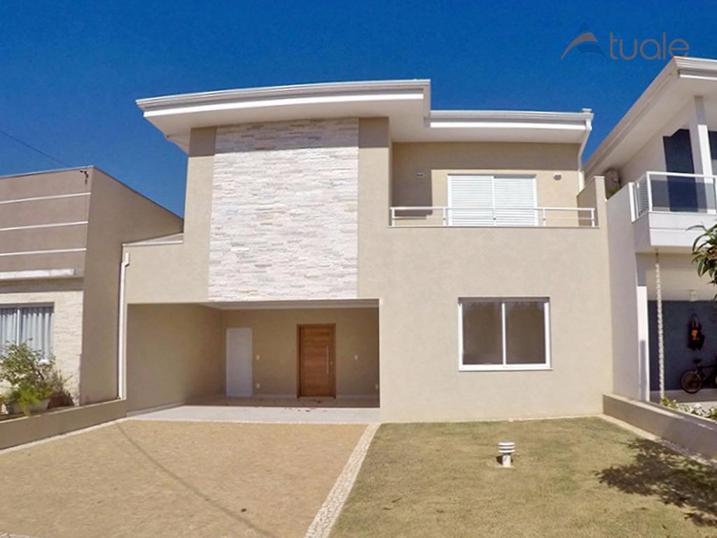 Casa residencial para venda e locação, Reserva Real, Parque Brasil 500, Paulínia - CA3952.