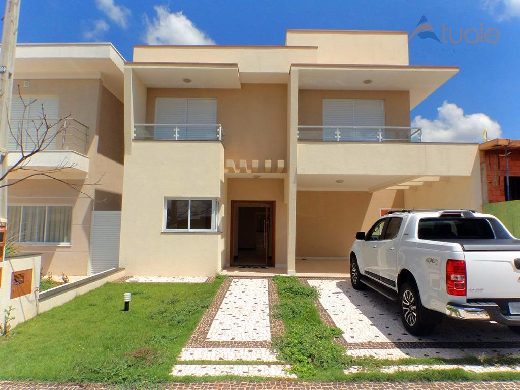 Casa residencial para venda e locação, Reserva Real, Parque Brasil 500, Paulínia - CA4025.