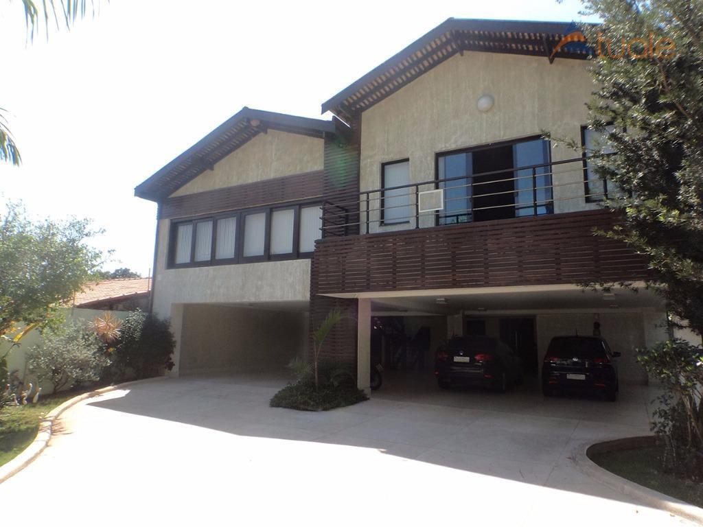 Casa residencial para venda e locação, Morumbi, Paulínia - CA4027.