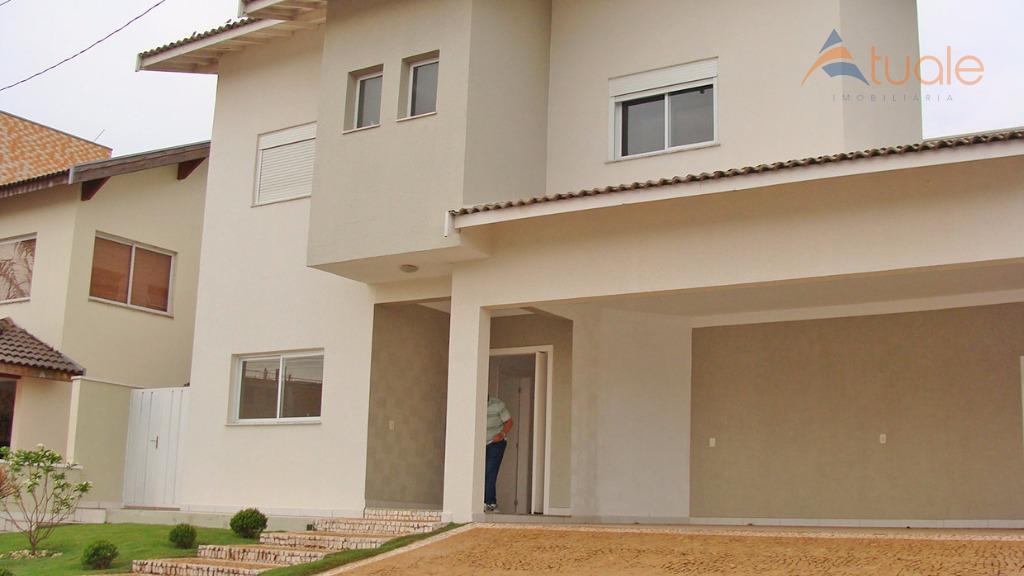 Casa residencial à venda, Metropolitan Park, Boa Esperança, Paulínia - CA4065.