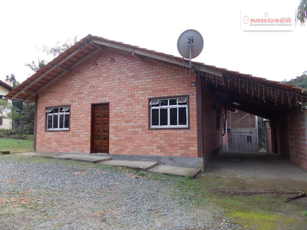 Casa residencial para venda e locação, Testo Salto, Blumenau - CA0045.
