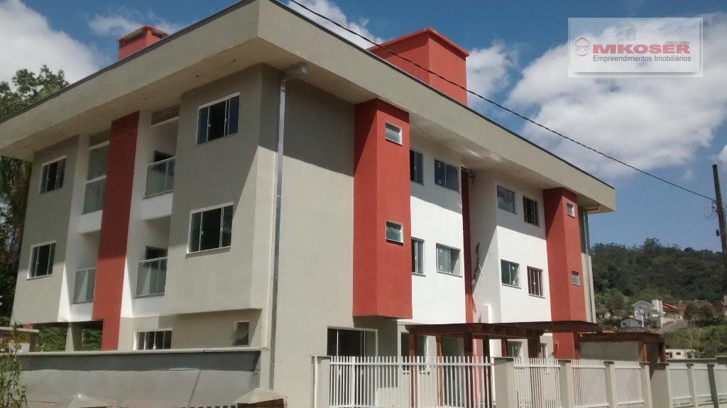 Apartamento residencial à venda, Ribeirão Areia, Pomerode - AP0158.