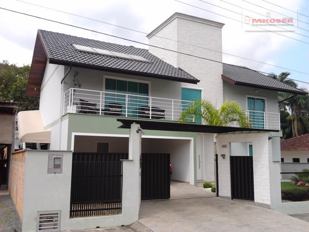 Casa residencial à venda, Alto da Serra, Pomerode.