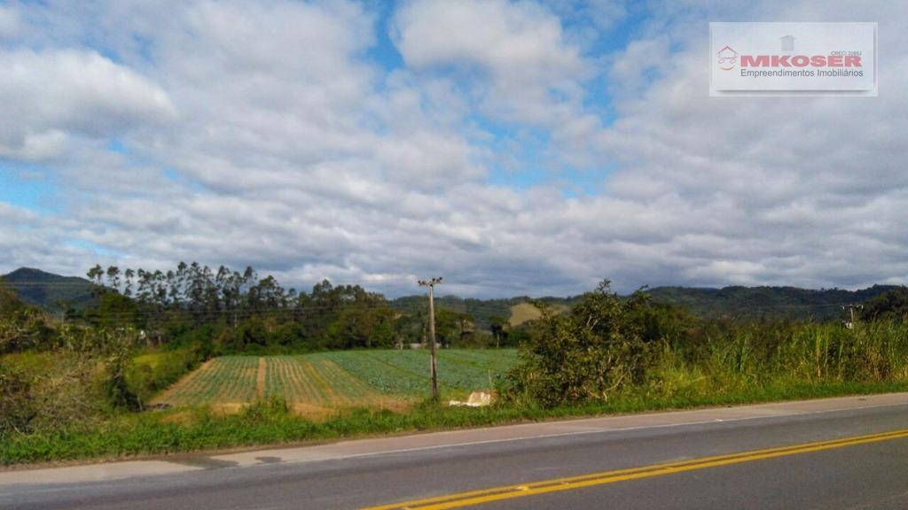 Terreno rural à venda, Rio Morto, Indaial.