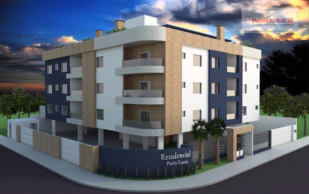 Apartamento residencial à venda, Ponta Aguda, Blumenau.