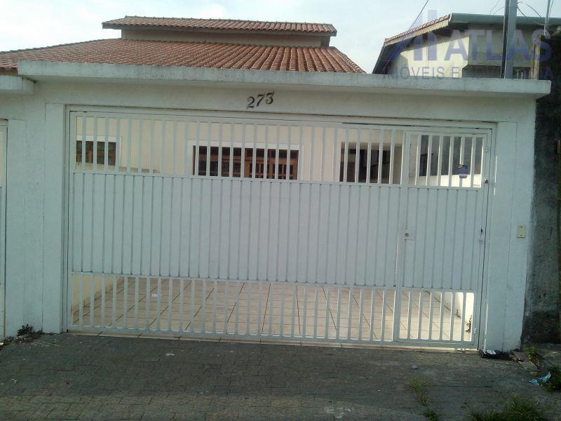 Sobrado residencial à venda, Parque Continental, Guarulhos - SO0105.
