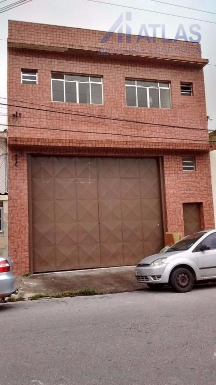 Galpão comercial para locação, Vila Maria Baixa, São Paulo - GA0125.