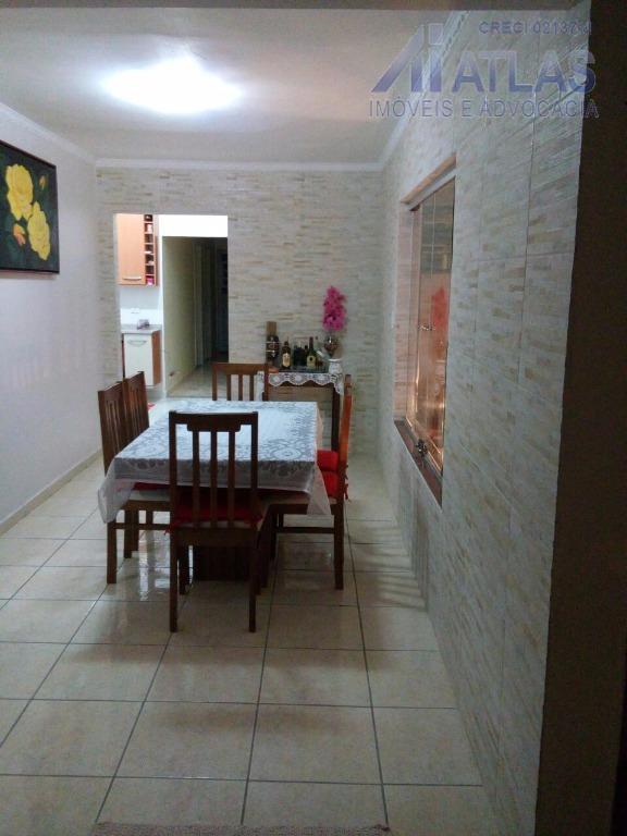 Casa residencial à venda, Parada Inglesa, São Paulo - CA0129.