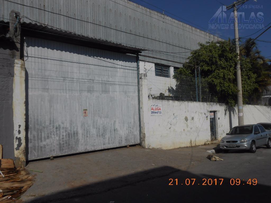 Galpão comercial para venda e locação, Vila Endres, Guarulhos - GA0084.