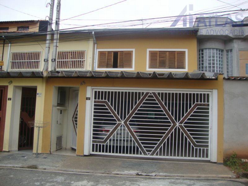 Sobrado residencial à venda, Chácara Jafet, Mogi das Cruzes - SO0024.