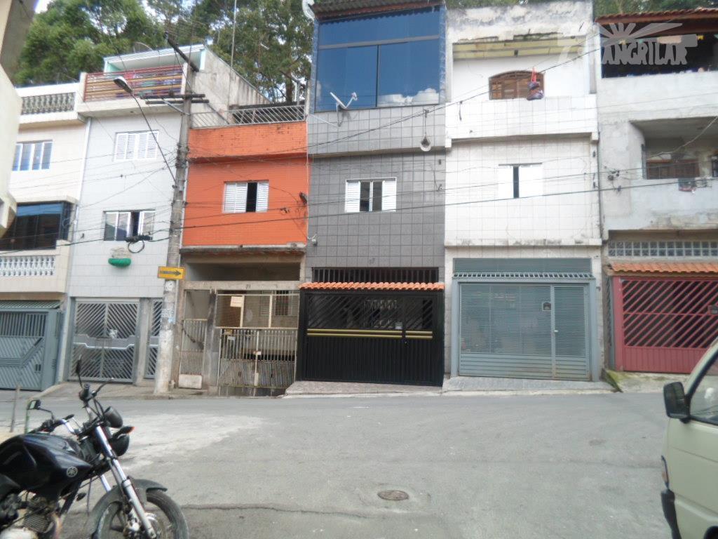 Sobrado residencial à venda, Vila Nova Conceição, Diadema.