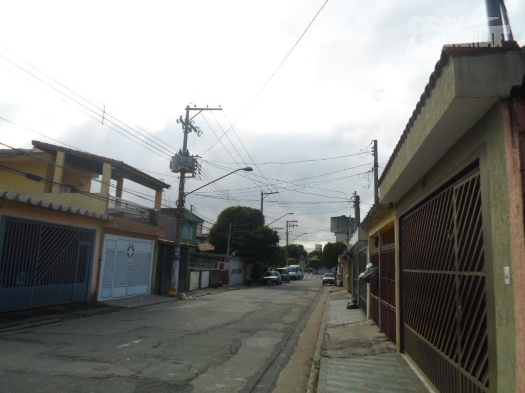 Sobrado residencial à venda, Vila São José, Diadema.