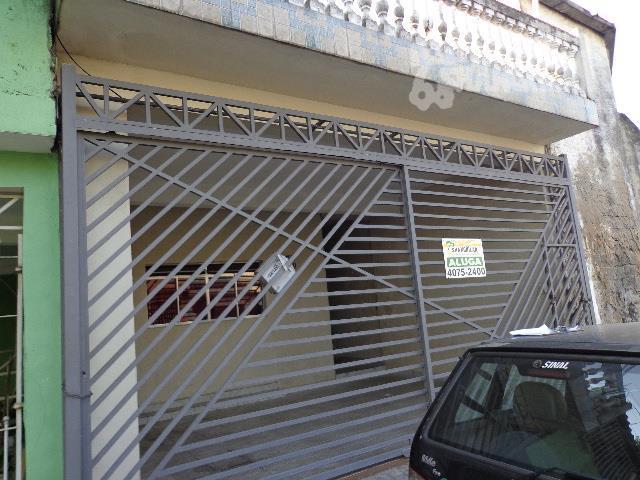 Sobrado residencial para venda e locação, Vila Santa Rita, Diadema - SO0267.