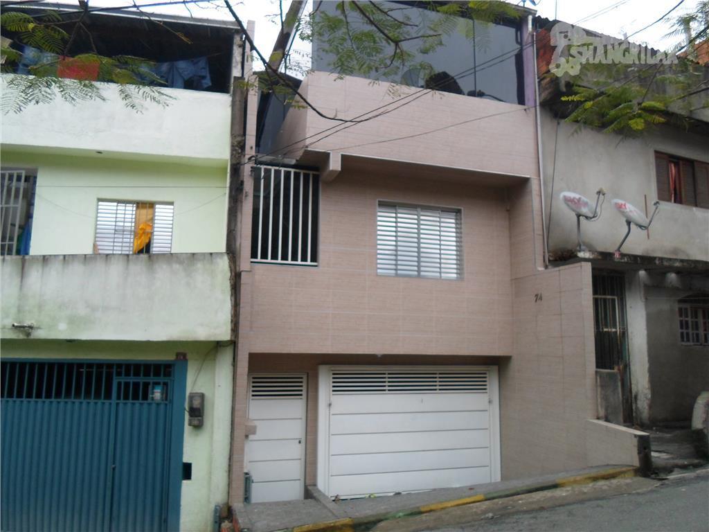 Sobrado residencial à venda, Casa Grande, Diadema.