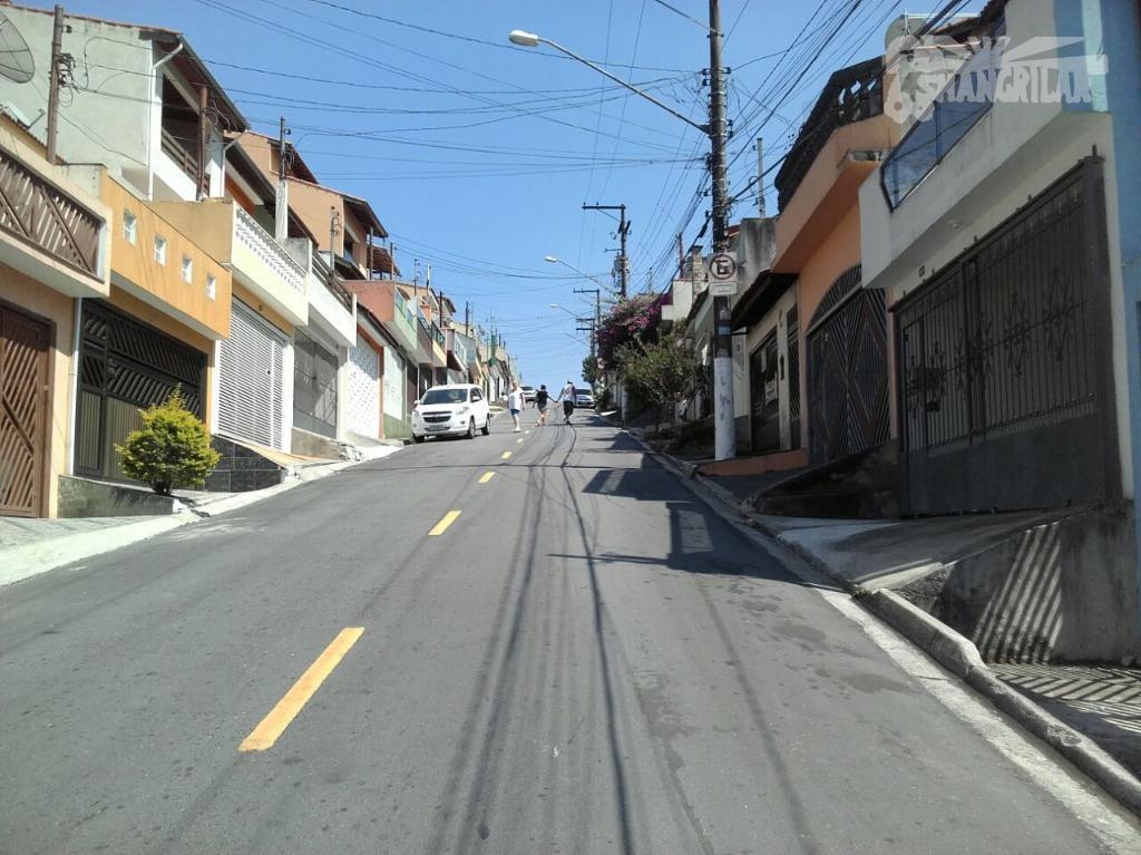 sobrado mobiliado, rua das dálias - vila marchi - são bernardo do campo.3 dormitórios c/ armários...