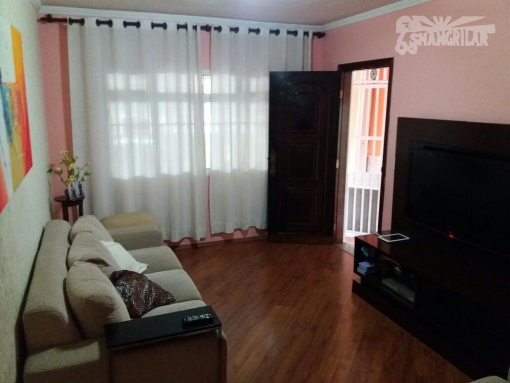 Sobrado 3 Dormitórios Residencial ou Comercial -Vila Nogueira-Diadema.