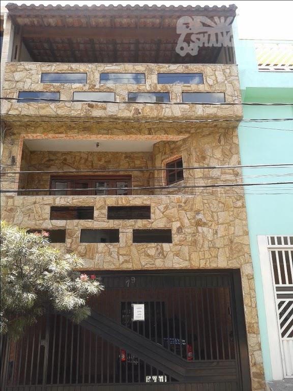 Sobrado residencial à venda, Piraporinha, Diadema.
