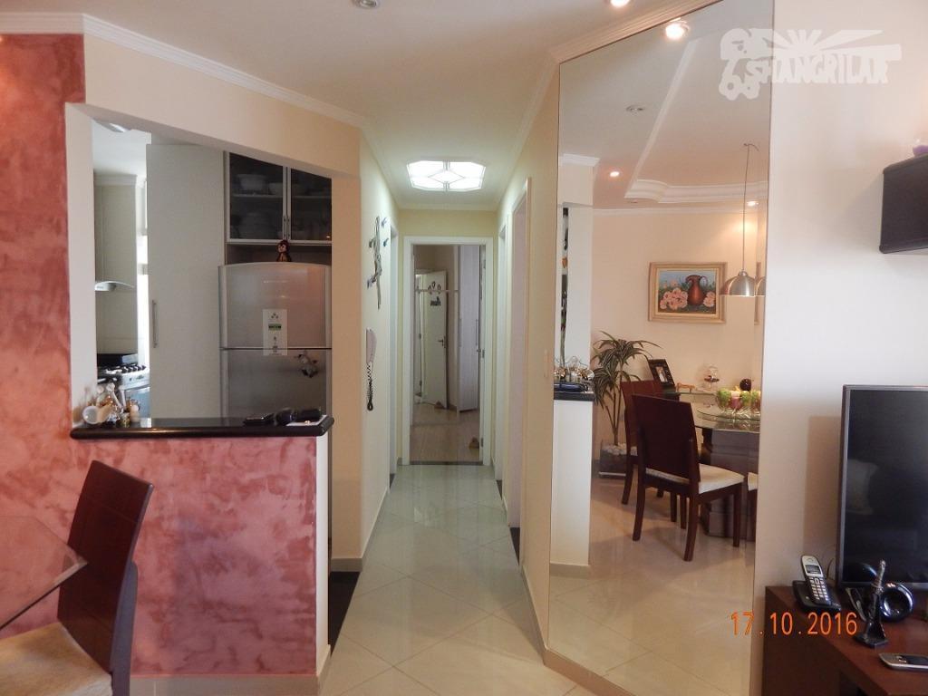 Apartamento residencial à venda, Vila Leopoldina, Santo André.