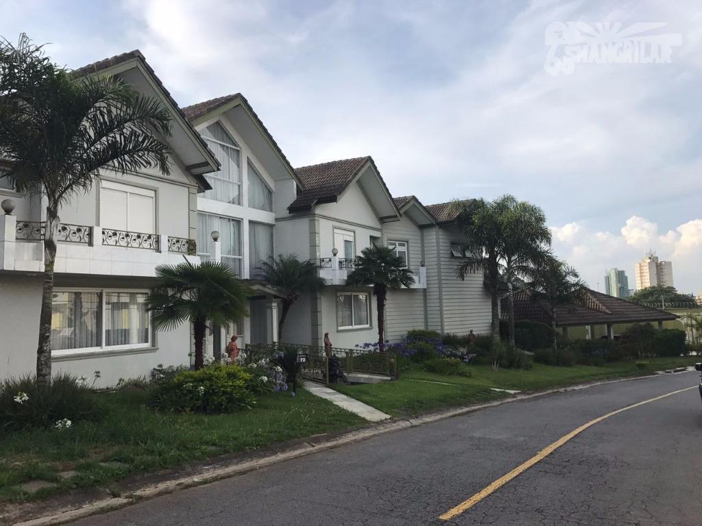 Casa residencial em condomínio fechado para locação, Parque Terra Nova II, São Bernardo do Campo.