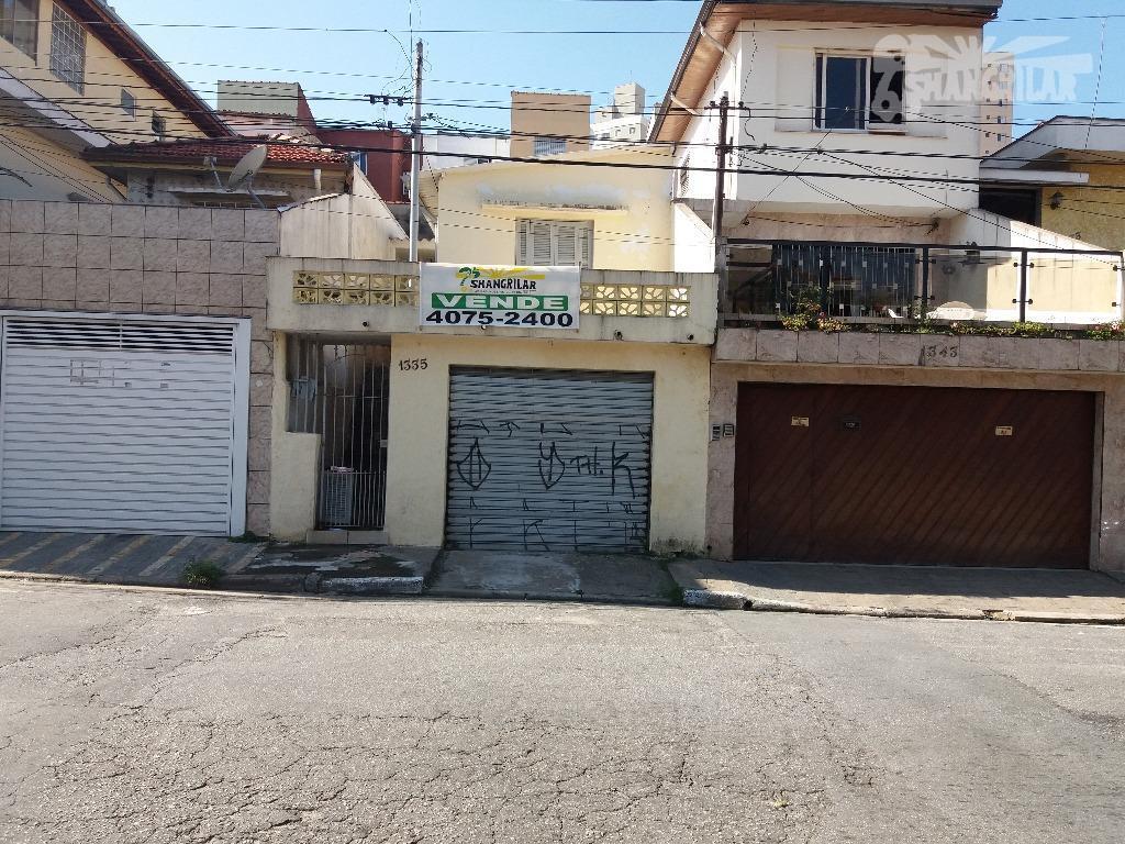 Casa residencial à venda, Saúde, São Paulo.