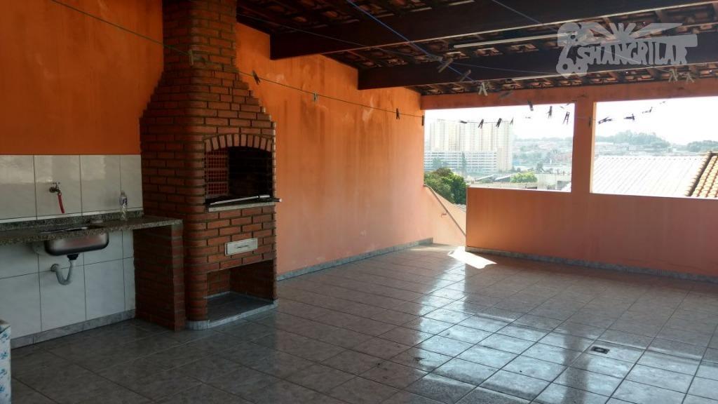 Sobrado residencial 3 Dormitórios (suítes), à venda, Vila Nogueira, Diadema.
