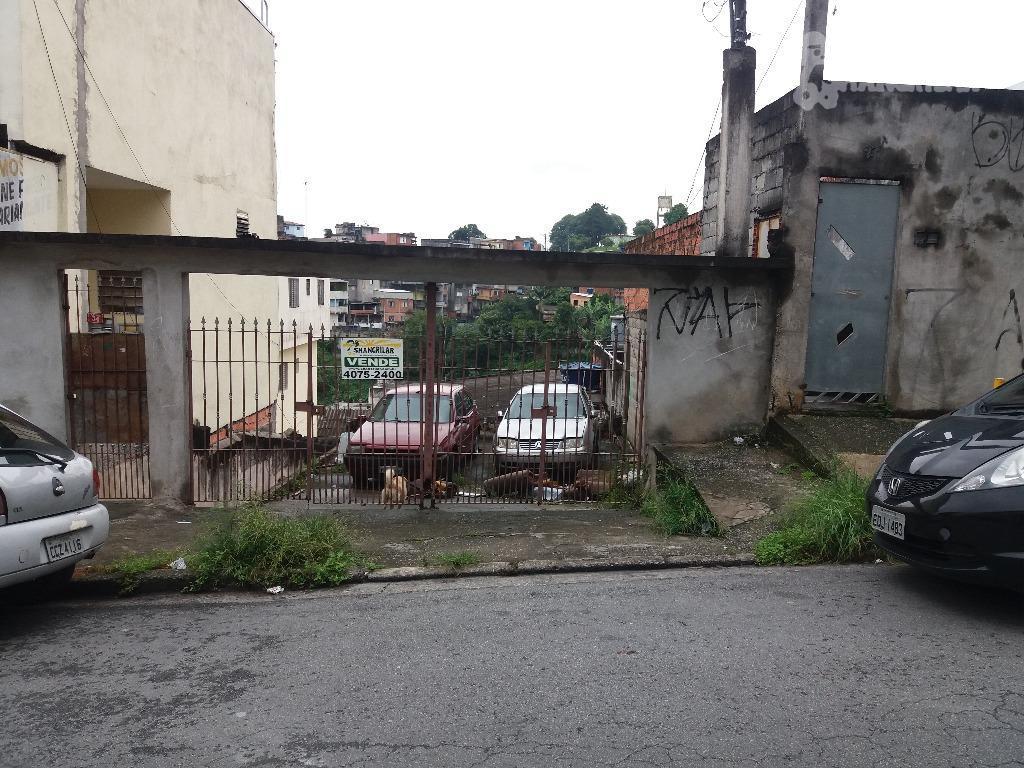 Terreno residencial à venda, Eldorado Sapopema, Diadema.