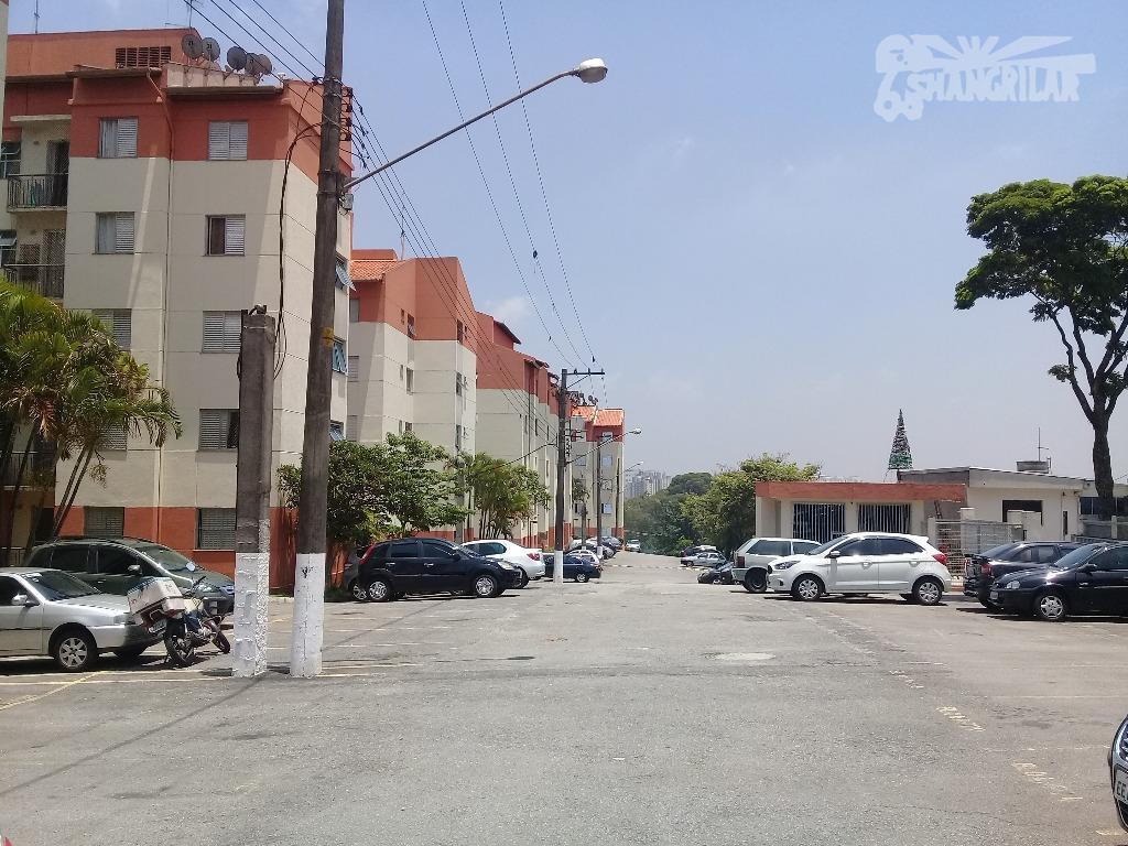 apartamento condomínio san marino i, jardim arco iris, bairro casa grande, diadema. área útil 48,00 m²,...