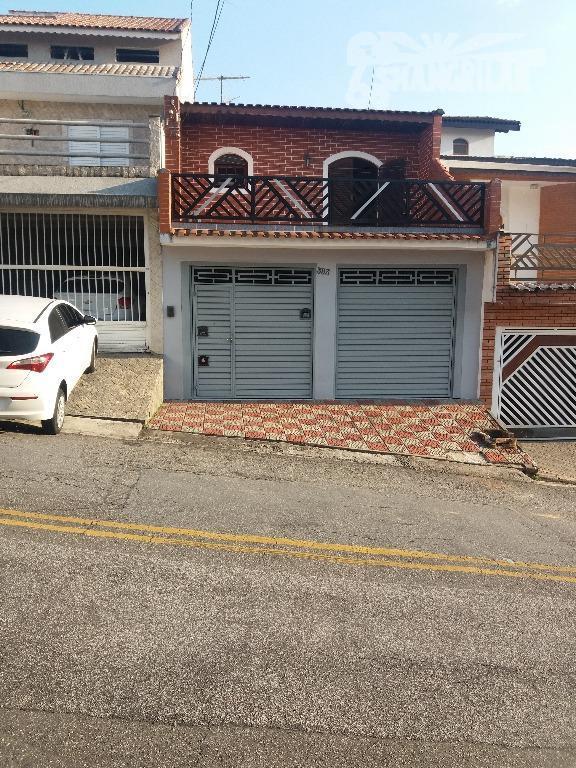 Sobrado residencial à venda, Jordanópolis, São Bernardo do Campo.