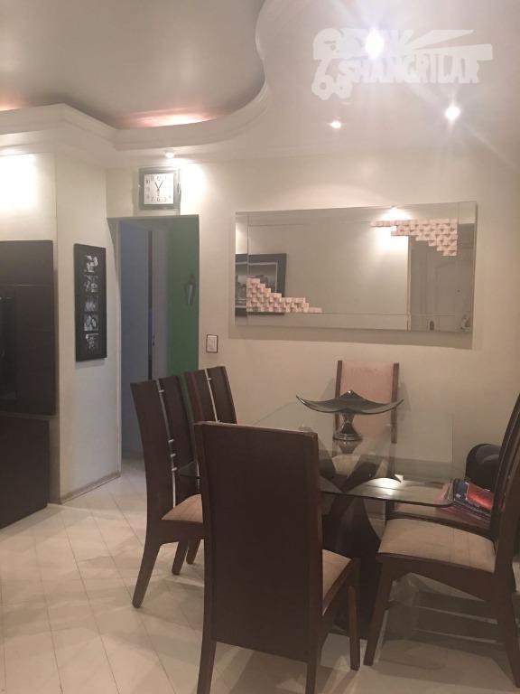 Apartamento 2 Dormit.  1 Sala, Cozinha, Banheiro, 1 Vaga de Garagem.Centro de Diadema.