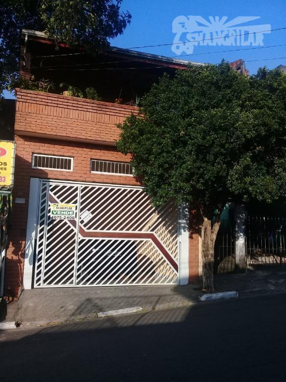 Sobrado com 3 dormitórios à venda, 252 m² por R$ 495.000 - Jardim Piraporinha - Diadema/SP