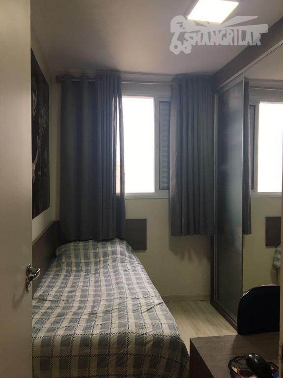 excelente apartamento no centro de diadema, mobiliado com móveis planejados na cozinha, dormitórios, banheiro e área...