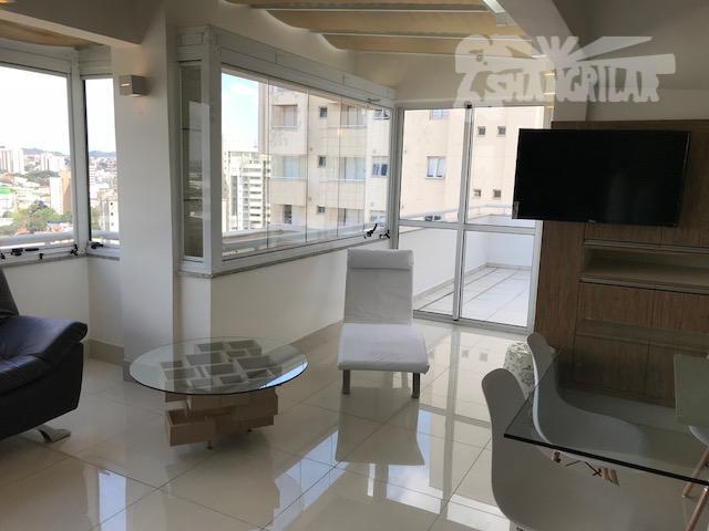 Apartamento Duplex residencial à venda, Centro, Santo André.
