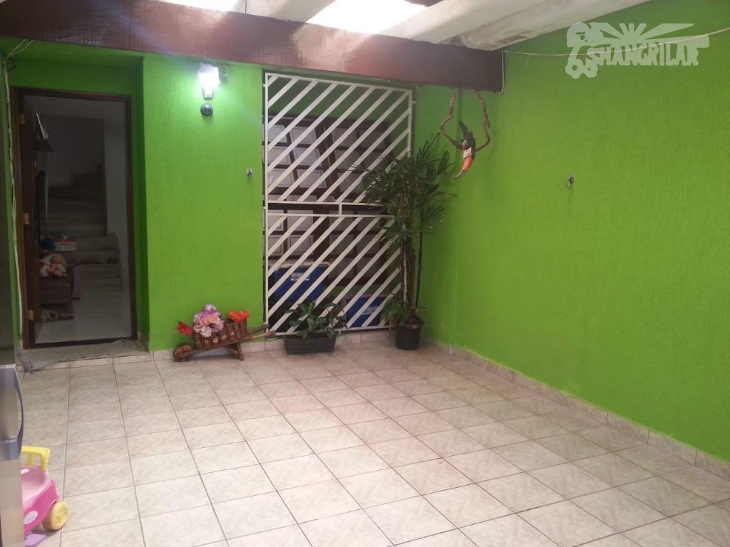 Sobrado de 2 Dormitórios, 1 Vaga de Garagem no Jordanopolis-São Bernardo do Campo-SP.
