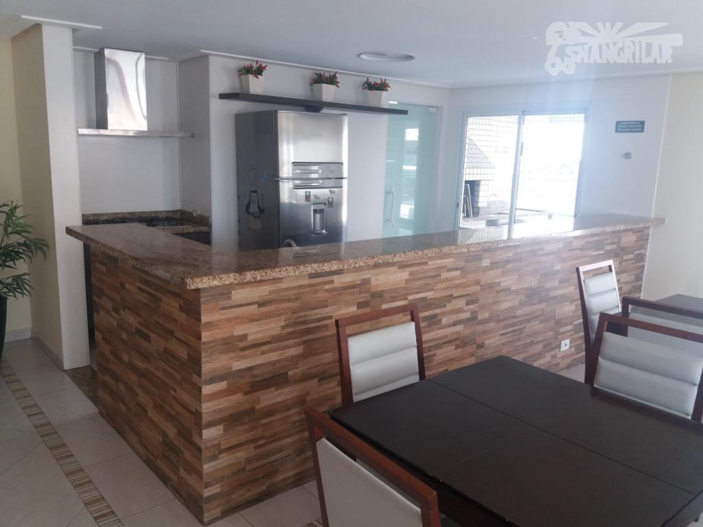 apartamento a 100 metros da praia, c/excelente localização, boqueirão, praia grande, área útil 83,870 m², 1...