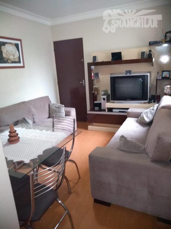 Apartamento 2 Dormitórios,Sala, Cozinha,Banheiro,1 Vaga de Garagem.