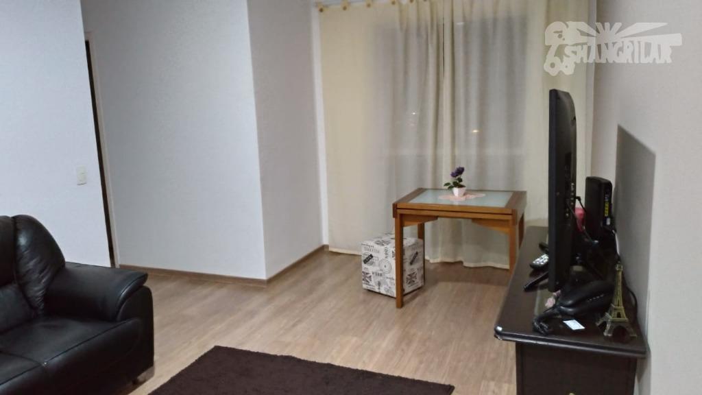 Apartamento de 3 Dormitórios (1 suite), Sala 2 Ambientes com sacada,