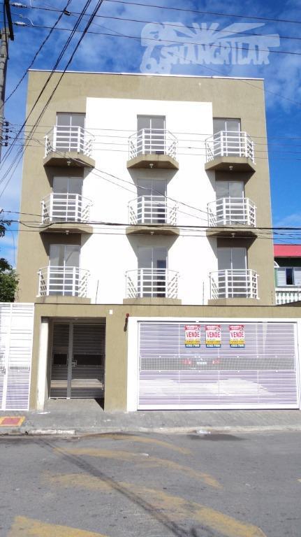 Apartamento com 2 dormitórios para alugar, 60 m² por R$ 1.200,00/mês - Vila São José - Diadema/SP