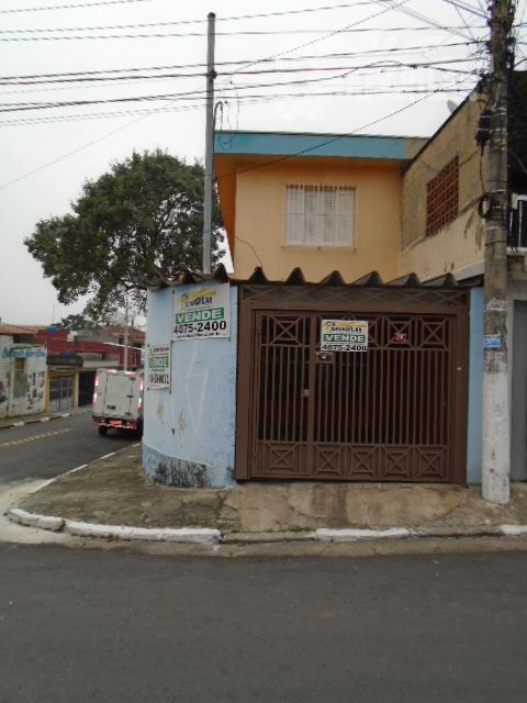 Sobrado com 3 dormitórios à venda, 159 m² por R$ 390.000 - Vila Padre Anchieta - Diadema/SP