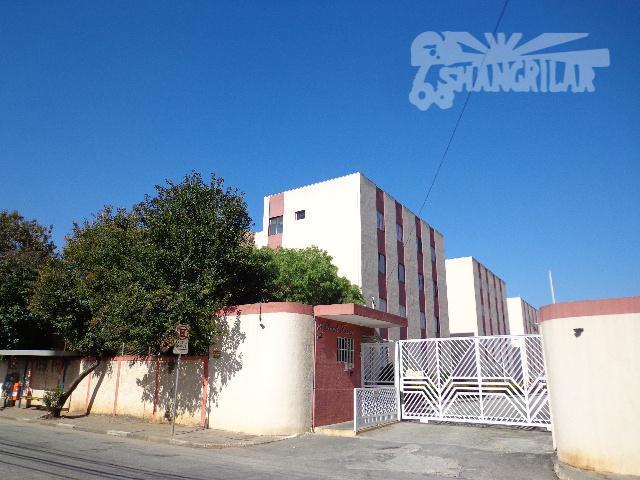 Apartamento com 2 dormitórios para alugar, 60 m² por R$ 900/mês - Chácara Sergipe - São Bernardo do Campo/SP